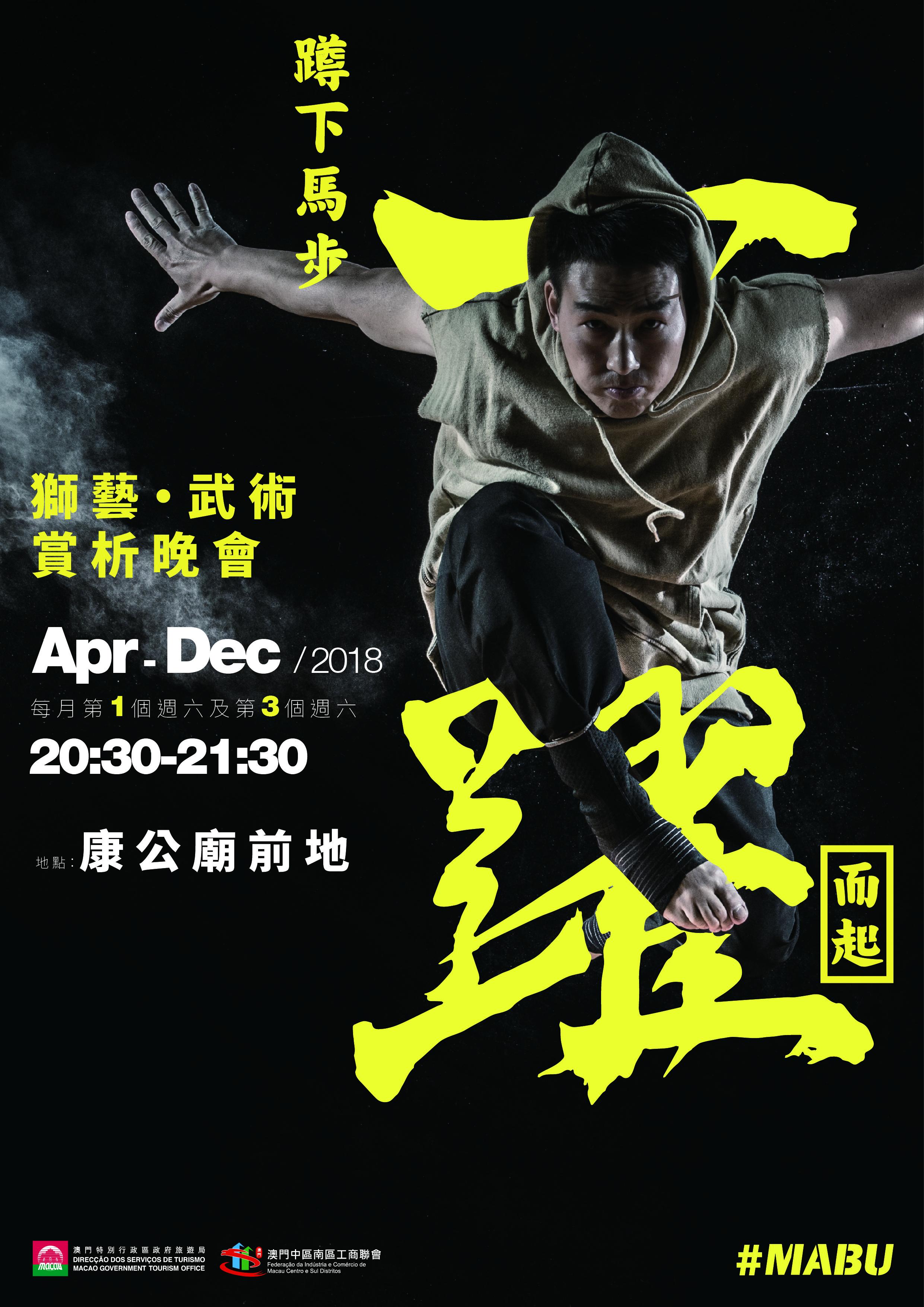 武術獅藝專案Poster - 2