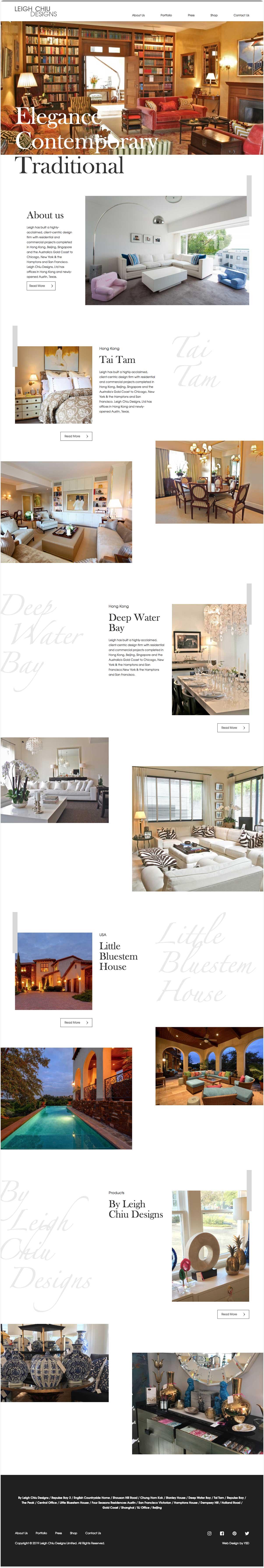 Web Design Leigh Chiu Design