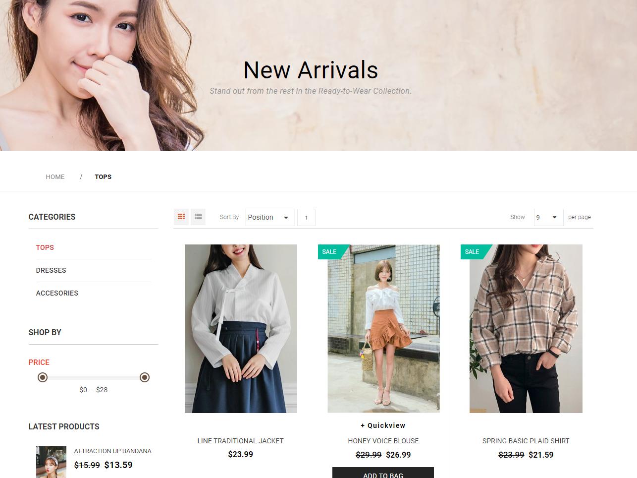Gliize為香港外銷韓國服裝網店,後台採用Magento 2系統開發。