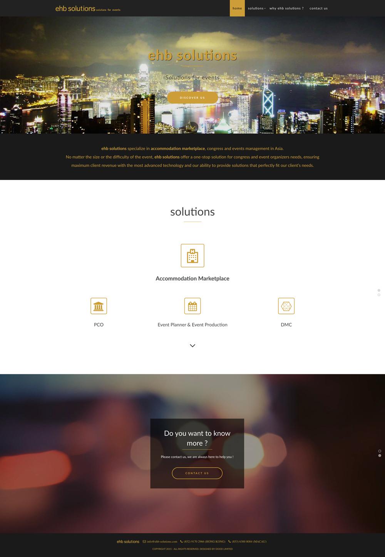 EHB Solutions Homepage