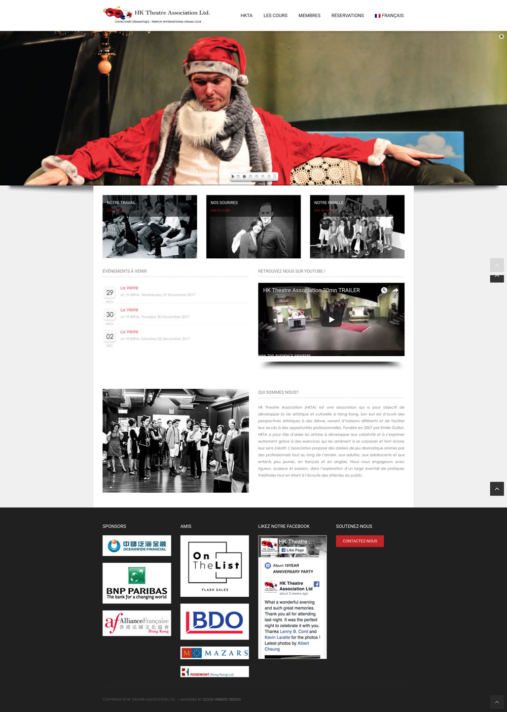 Hong Kong Theatre Association Homepage