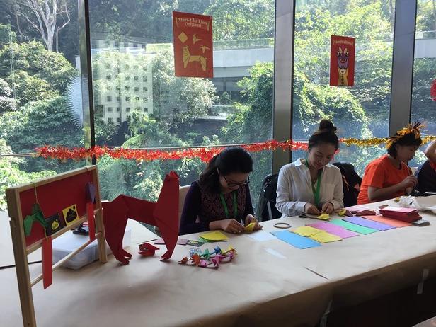 Mari-Cha Lion Origami Workshop